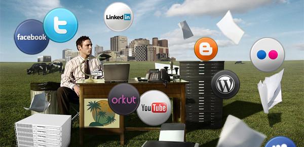 Uma nova mídia: Redes Sociais