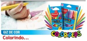 colorindo com giz de cor