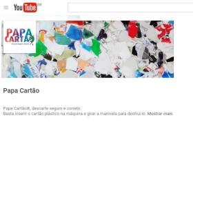 Papa Cartão inaugura canal no YouTube