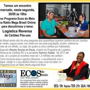 Semana de entrevista: Papa Cartão na Rádio MegaBrasil