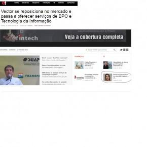 Vector é destaque do portal Executivos Financeiros