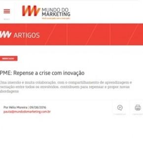 Artigo na Mídia: Repense a Crise com Inovação, por Helio Moreira (NewGrowing)
