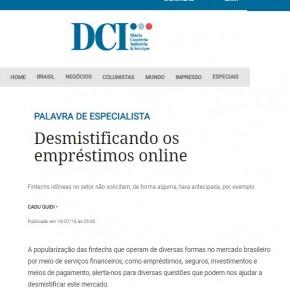 DCI publica artigo da FinanZero