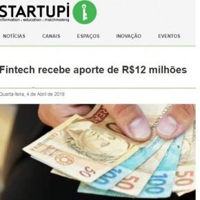 Novo aporte financeiro da FinanZero é destaque do Portal Startupi
